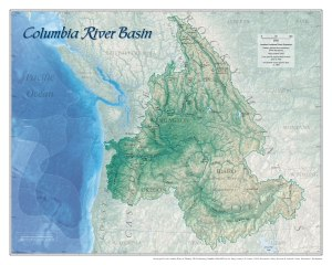 Columbia Watershed Map