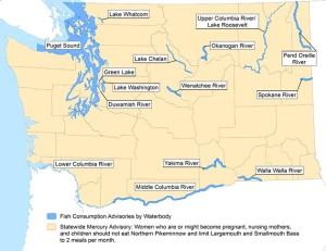 WA DOH Statewide Fish Consumption Advisories Map (11-5-13)
