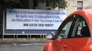 2011 Water Billboard