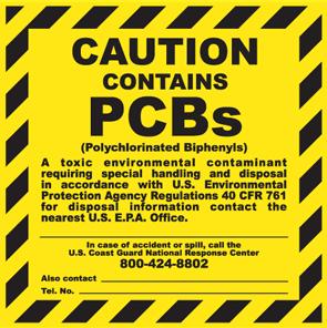 Caution Label PCBs