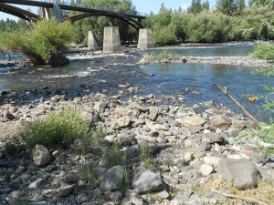 Spokane River - Sandifur Bridge - 630 cfs - 8-8-15
