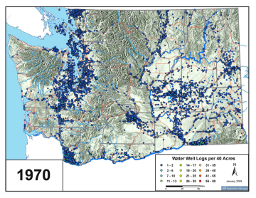 1970 Water Wells (Dept. of Ecology)