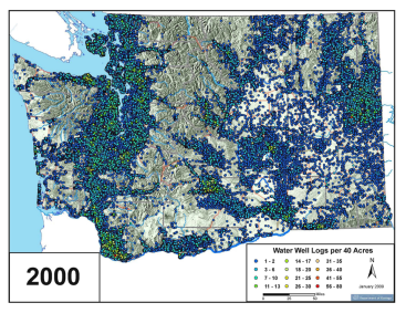 2000 Water Wells (Dept. of Ecology)